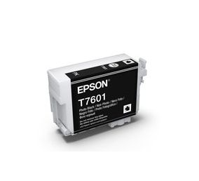 T7601 - Cartucho de Tinta Epson UltraChrome HD 25,9ml - Preto Foto