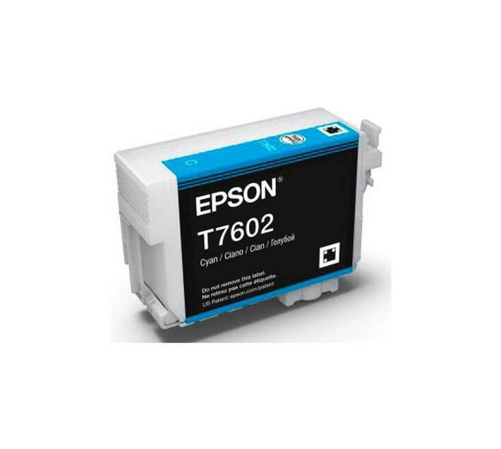 T7602 - Cartucho de Tinta Epson UltraChrome HD 25,9ml - Ciano
