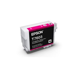 T7603 - Cartucho de Tinta Epson UltraChrome HD 25,9ml - Magenta Intenso
