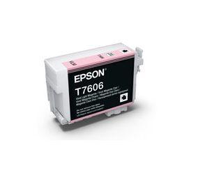 T7606 - Cartucho de Tinta Epson UltraChrome HD 25,9ml - Magenta Claro Intenso