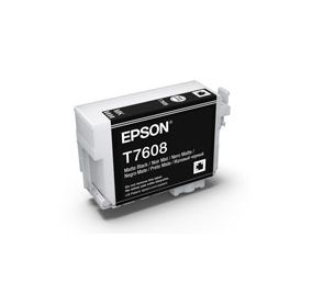 T7608 - Cartucho de Tinta Epson UltraChrome HD 25,9ml - Preto Fosco