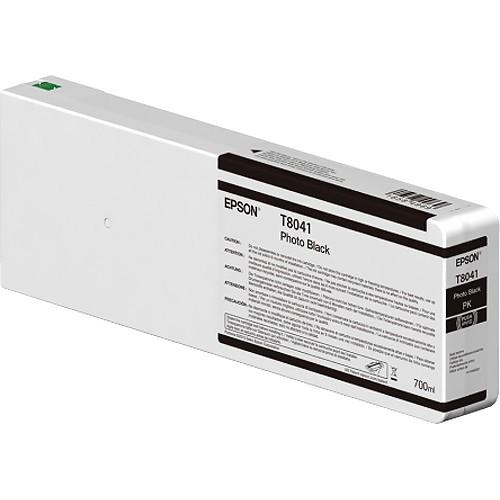T8041 - Cartucho de Tinta Epson UltraChrome HD 700ml - Preto Foto