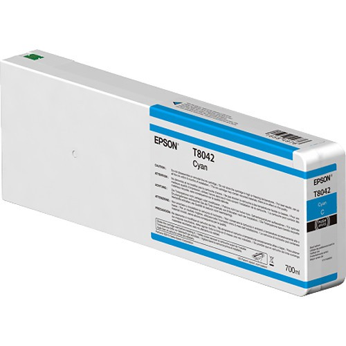 T8042 - Cartucho de Tinta Epson UltraChrome HD 700ml - Ciano