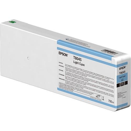 T8045 - Cartucho de Tinta Epson UltraChrome HD 700ml - Ciano Claro