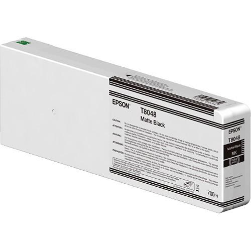 T8048 - Cartucho de Tinta Epson UltraChrome HD 700ml - Preto Fosco