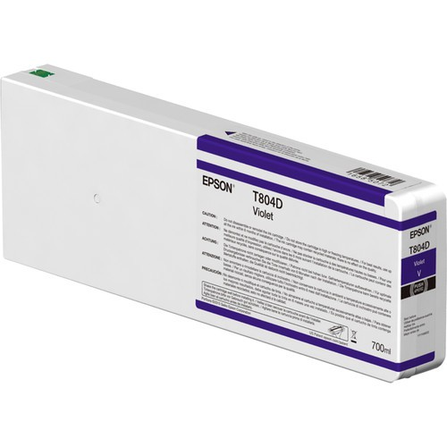 T804D - Cartucho de Tinta Epson UltraChrome HDX 700ml - Violeta