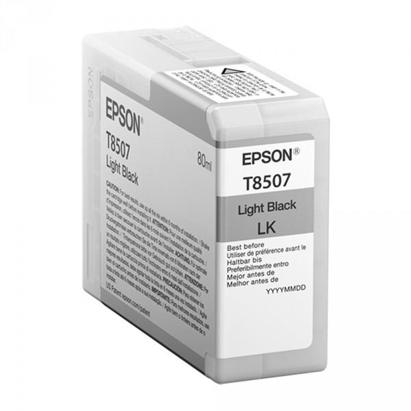 T8507 - Cartucho de Tinta Epson UltraChrome HD 80ml - Preto Claro