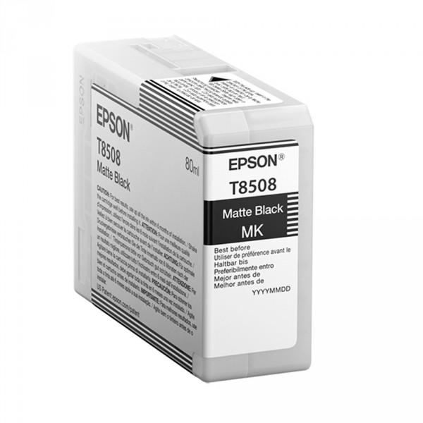 T8508 - Cartucho de Tinta Epson UltraChrome HD 80ml - Preto Fosco
