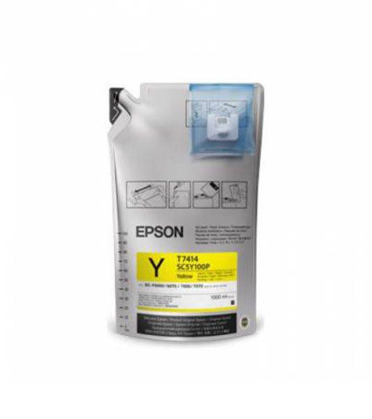 Tinta Epson Ultrachrome DS - Amarelo   T741400