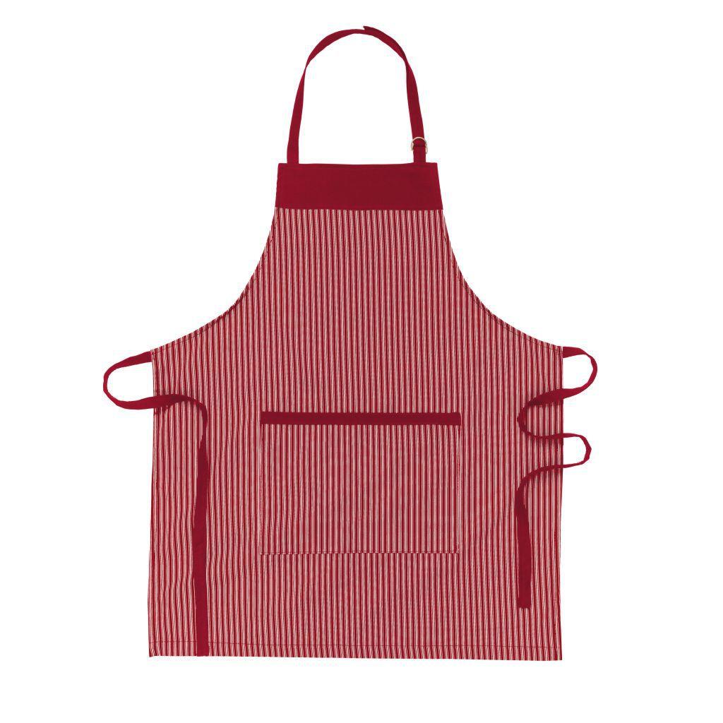 Avental  Chefe de Cozinha Vermelho Alça Regulável