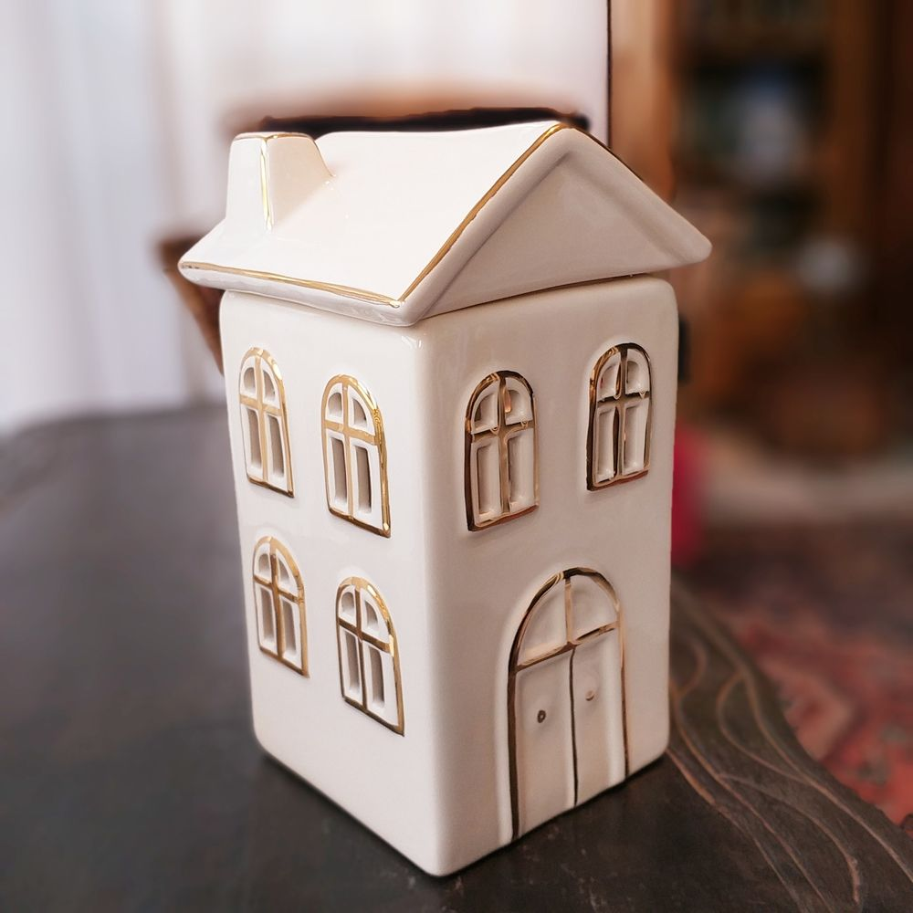 Porta Vela de Natal Casa Alta Cerâmica  - Brandal table & textile