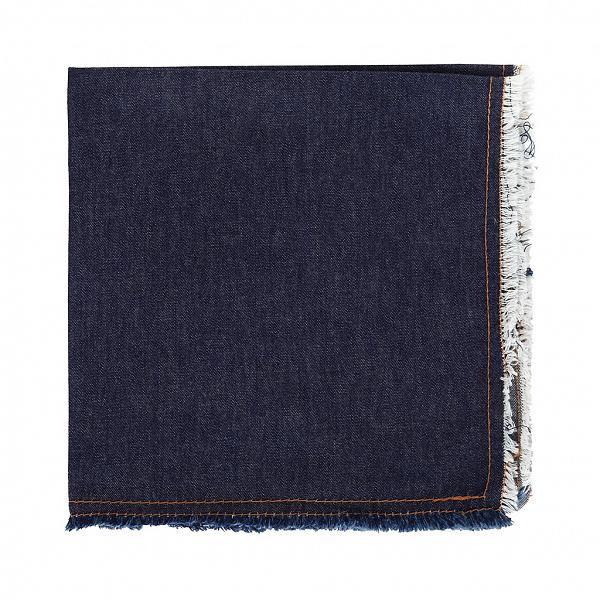 Guardanapo de Algodão Jeans Índigo 4 Peças