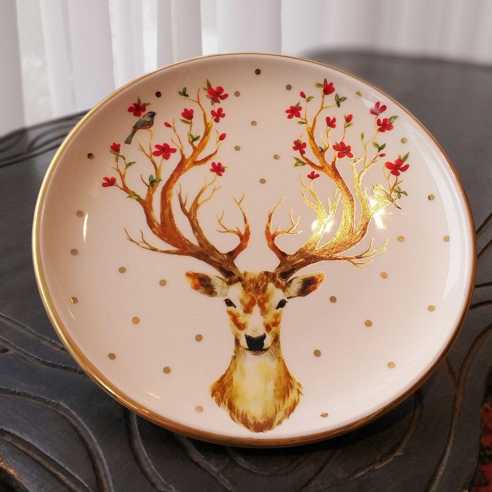 Prato de Sobremesa Luiz Salvador Deer Multicolor  - Brandal table & textile