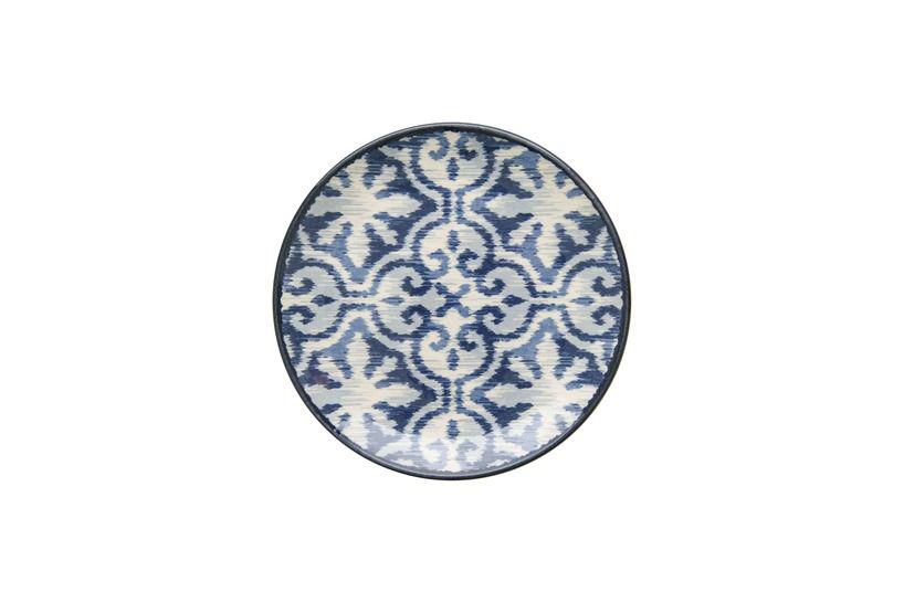 Prato de Sobremesa Aquarelle Boho Blue Colors 20cm