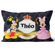 Almofada Mickey Personalizada Principe Realeza  20x30 Frente-verso
