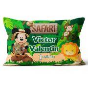 Almofada Personalizada Mickey Safari 20x30 Frente