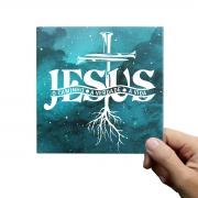 Azulejo Decorativo Jesus O Caminho A Verdade A vida