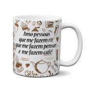 Caneca Eu Amo Café
