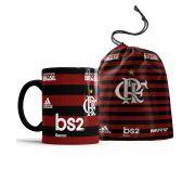 Caneca Flamengo Personalizada com nome + Saco de Tecido