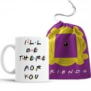 Caneca Friends - I'll Be There For You com saquinho