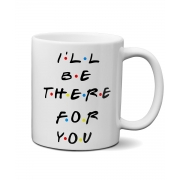 Caneca Friends - I'll Be There For You com saquinho