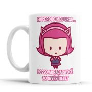 Caneca League of Legends Annie Cantadas Divertidas Branca