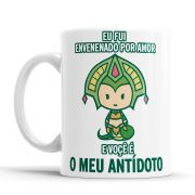 Caneca League of Legends Cassiopeia Cantadas Divertidas