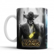 Caneca League of Legends - Twisted Fate + saquinho