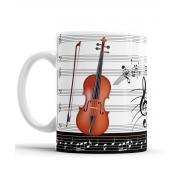 Caneca Musica Violino