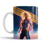 Caneca os Vingadores - Captain Marvel (Capitão Marvel)