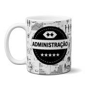 - Caneca Personalizada Profissão - Administração ( Branca)
