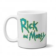 Caneca Rick and morty Fuck You + Saquinho