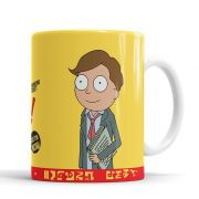 Caneca Rick and Morty Better Call Morty com saquinho