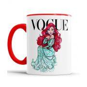 Caneca Vogue Princesas Disney Ariel