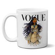 Caneca Vogue Princesas Disney Pocahontas