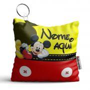 Chaveiro Almofada Personalizada Tema Mickey