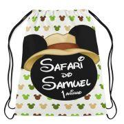 Mochilinha Personalizada Mickey Safari
