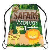 Mochilinha Personalizada Safari