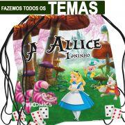 Mochilinhas Personalizadas Alice no País das Maravilhas