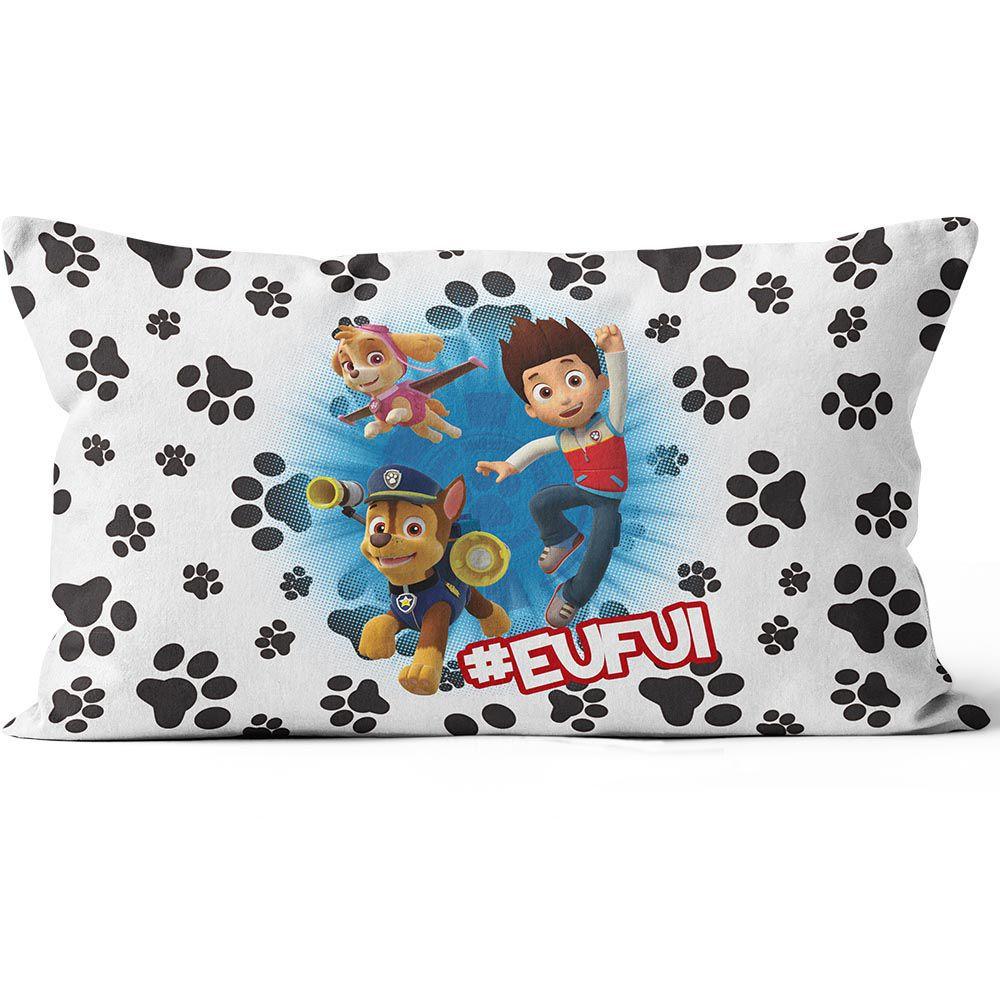 Almofada Personalizada 25x15 Patrulha Canina Frente & Verso