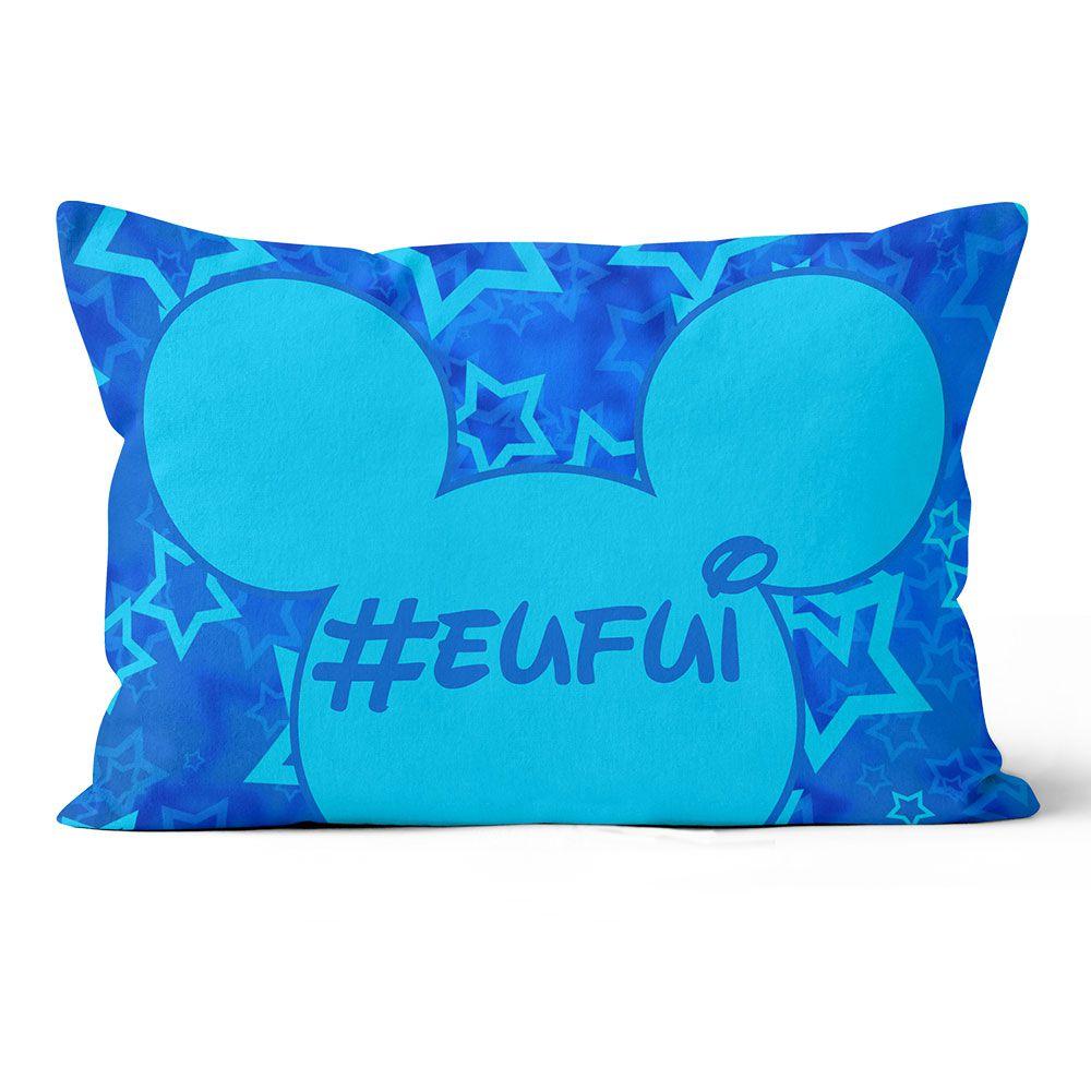 Almofada Personalizada Mickey - Azul  20x30 F & V