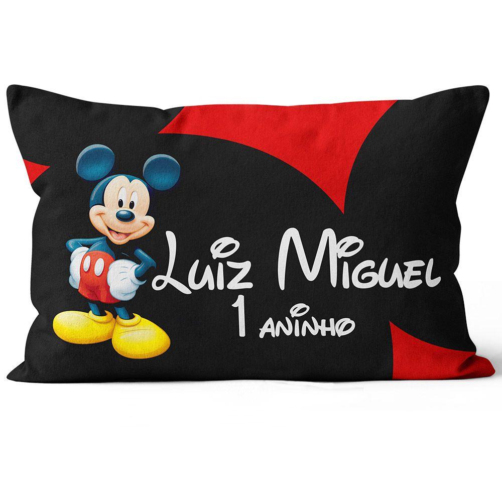Almofada Personalizada Mickey Tradicional 20x30 F e V