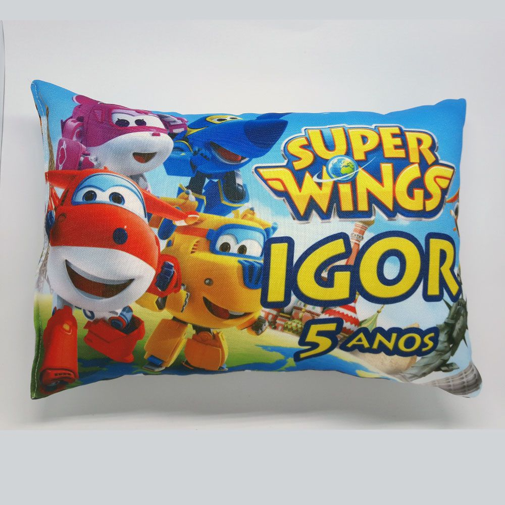 Almofada Personalizada Super Wings