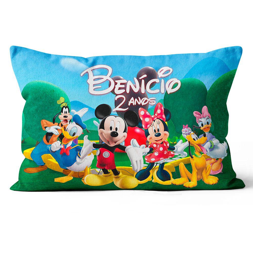 Almofada Personalizada Turma do Mickey 20x30