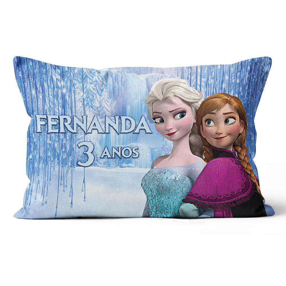 Almofadas Frozen Personalizadas 20x30 Frente