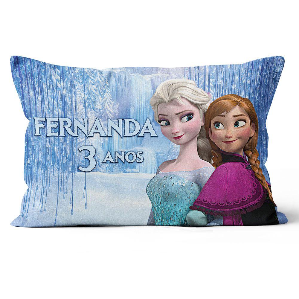 Almofadas Frozen Personalizadas 20x30 Frente & Verso