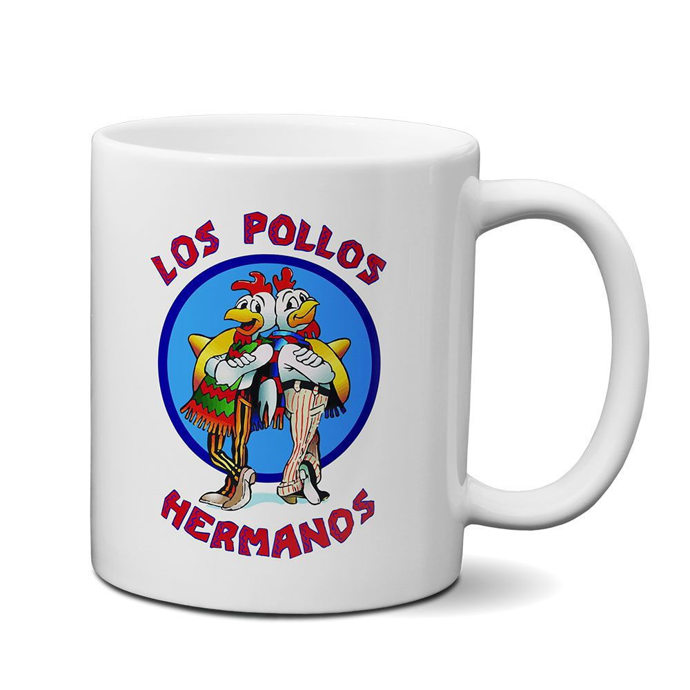 Caneca Breaking Bad Los Pollos Hermanos Mod01