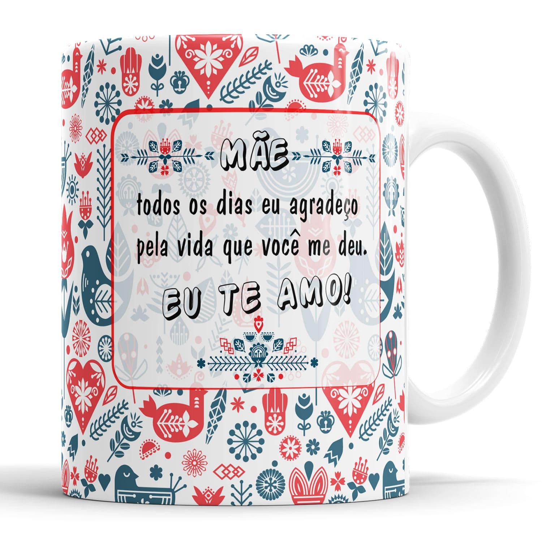 Caneca Dia das Mães + Saquinho