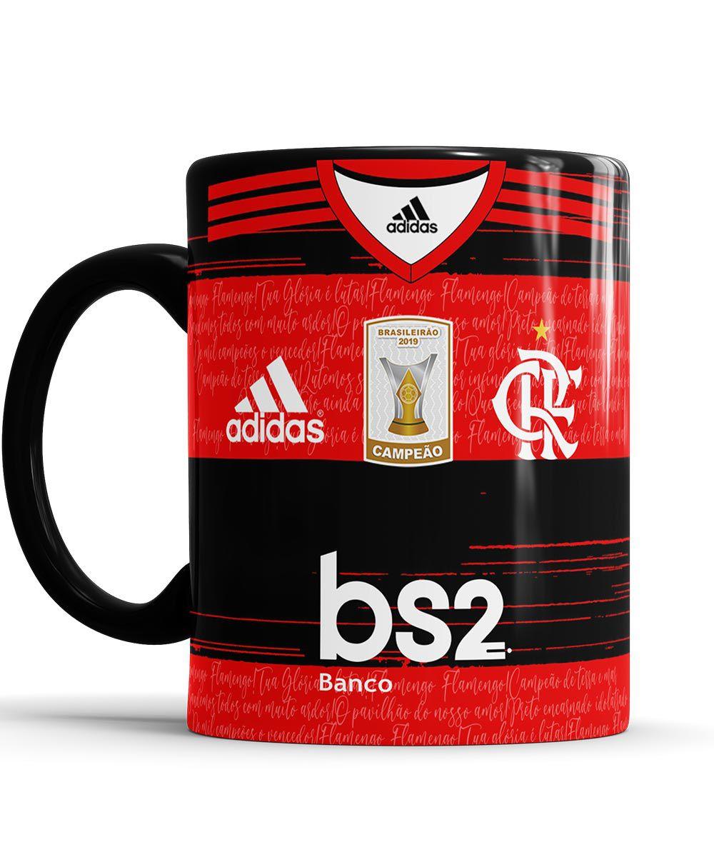 Caneca do Flamengo Personalizada com nome + Saquinho de Tecido