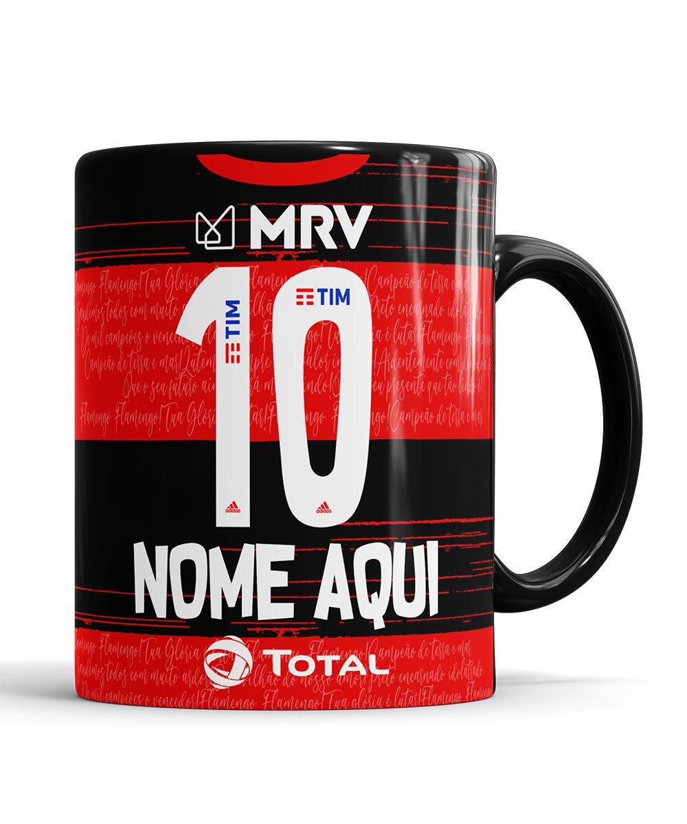 Caneca Flamengo Personalizada com nome
